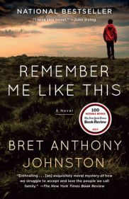 Remember Me Like This, by Bret Anthony Johnston - Finalist, Crook's Corner Book Prize, 2015