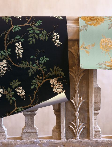 colefax and fowler that one with black background is gorgeous