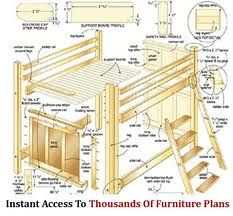 bunk bed with stairs plans free bunk bed with stairs plans how to build - Free Loft Bed With Desk Plans