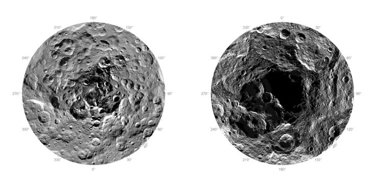 Here's Our First Ever Look At The North And South Poles Of Ceres