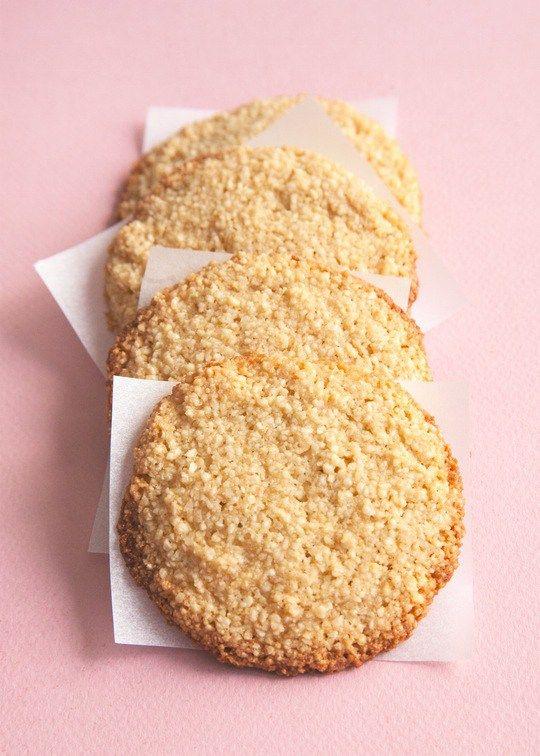 Bezlepkové mandlové sušienky