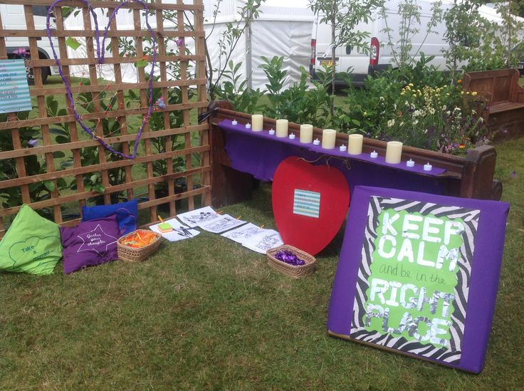 Children in Years 5 and 6 created this prayer space based on the Parable of the sower