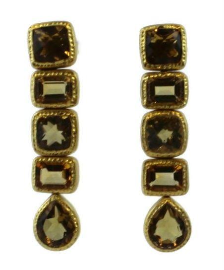 Celine Citrine Earrings
