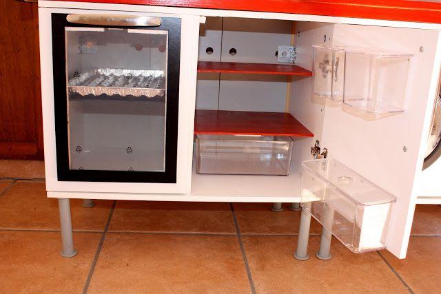 Kühlschrank: IKEA-Aufbewahrungsboxen für Gemüsefach und Seitenfächer