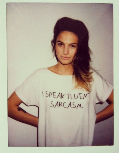 T-shirt sarcasm | MeWant | SHOWROOM