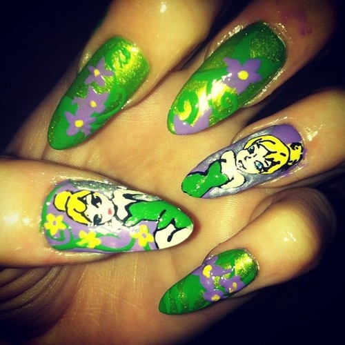 Tinkerbell Nails: 83 Best Tinkerbell Images On Pinterest