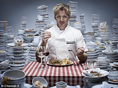 114 best gordon ramsay chef images on pinterest ramsay chef gordon ramsay appearing in one of his many publicity shots for his tv shows fandeluxe PDF