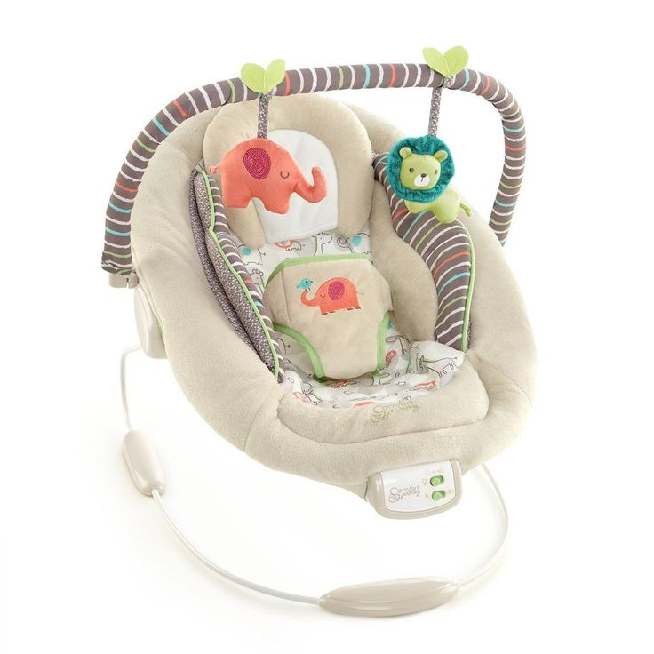 Bouncer Cradling Baby Seat Infant Rocker Vibration Comfort  Harmony Toy Support