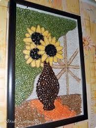 Image result for manualidades con semillas para niños