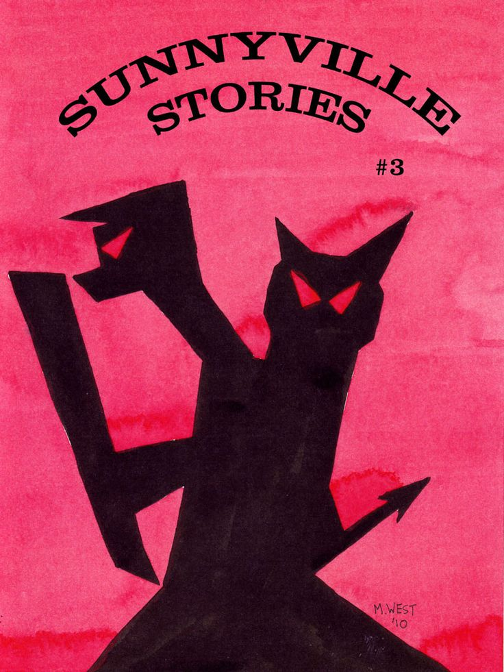 Book Cover Art Copyright : Sunnyville stories cover art by max west copyright
