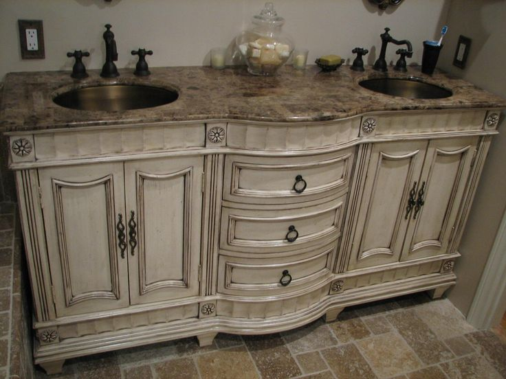 Best 20 french vanity ideas on pinterest vintage - French provincial bathroom vanities ...
