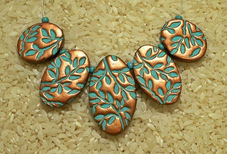 30 easy diy polymer clay beads ideas (6)