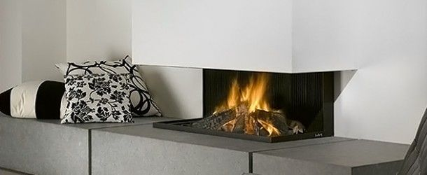 Feel the Warmth of Style from 20 Modern Fireplace Designs via @homedesignlover