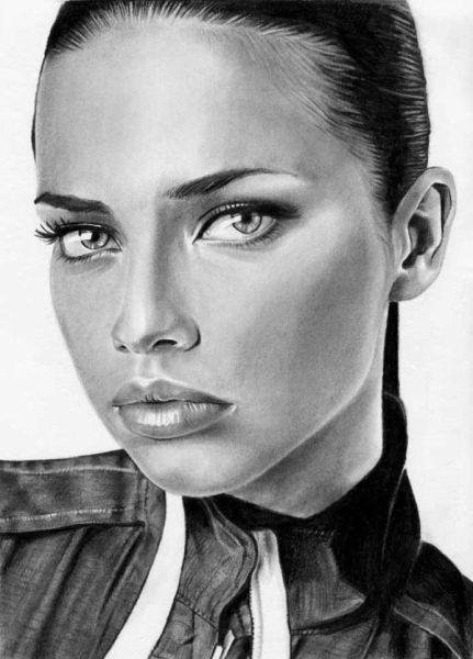 Pencil Sketches Of Women | Beautiful Pencil Drawings of Women (54 pics) - Izismile.com