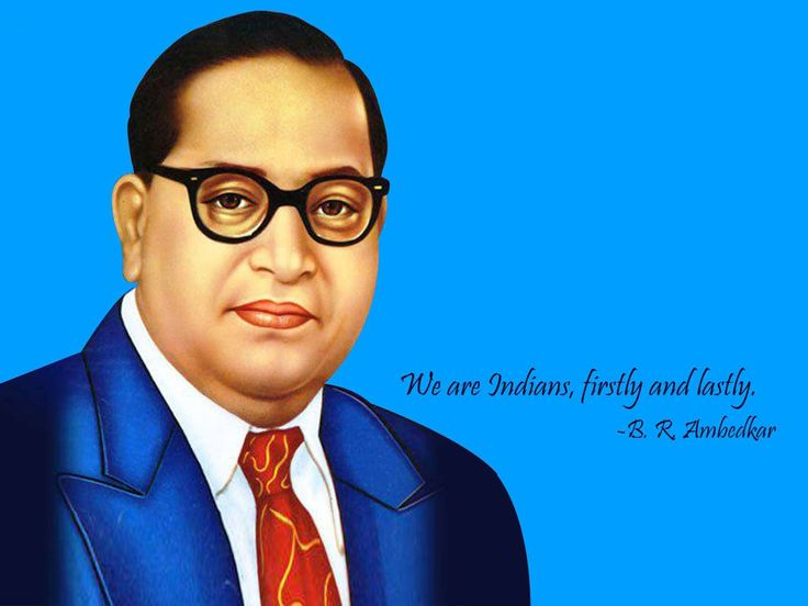 We are Indians firstly and lastly - Dr. B.R. Ambedkar #happyambedkarjayanti