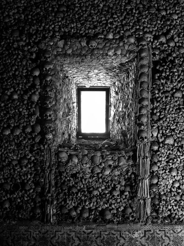 Chapel of Bones, Evora - Portugal. Very freaky!