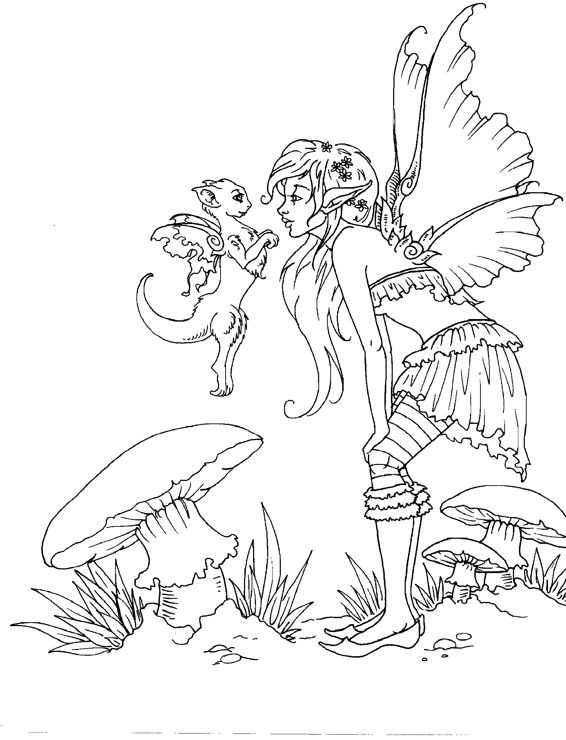 artist amy brown fairy myth mythical mystical legend elf fairy fae wings fantasy elves faries sprite cute coloring pagesadult coloring - Coloring Pages Dragons Fairies