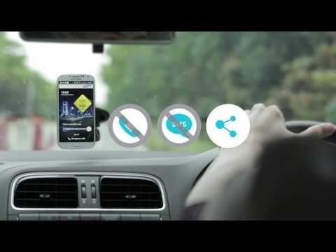 #Samsung has created the #EyesOnTheRoad app.