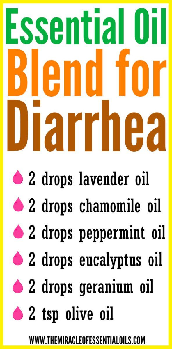 DIY Essential Oil Blend for Diarrhea