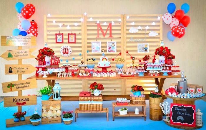 Wizard of Oz Birthday Party on Kara's Party Ideas | KarasPartyIdeas.com (13)