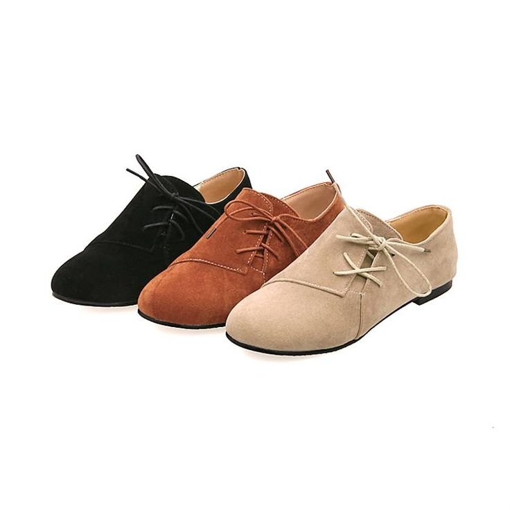 Free shipping girls fashion 2013 spring new Oxfords shoes woman casual  ladies lace up black brown