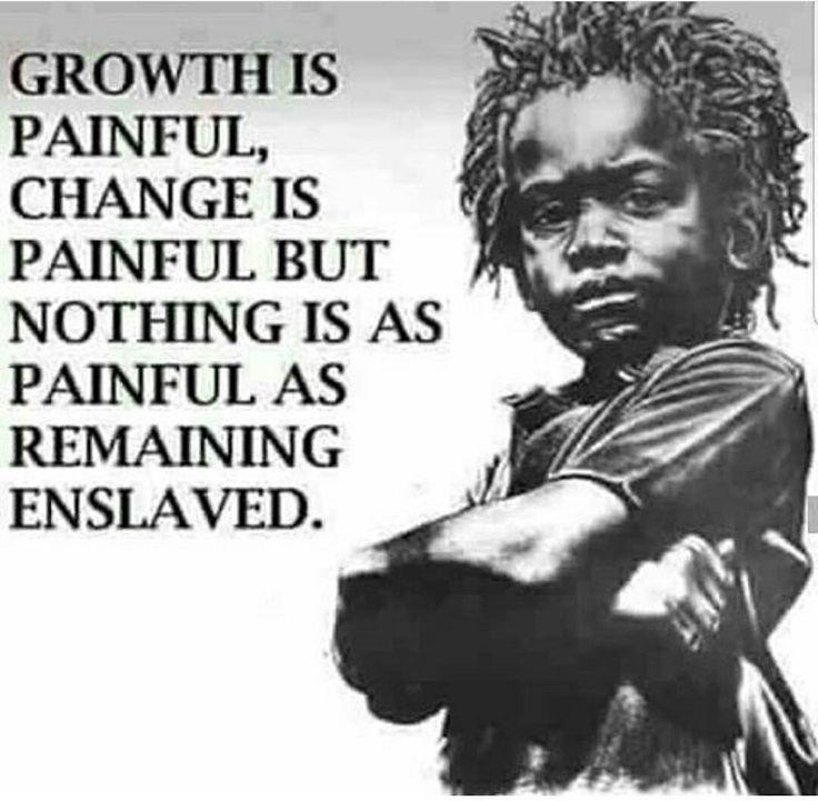 Break free of internalized oppression!