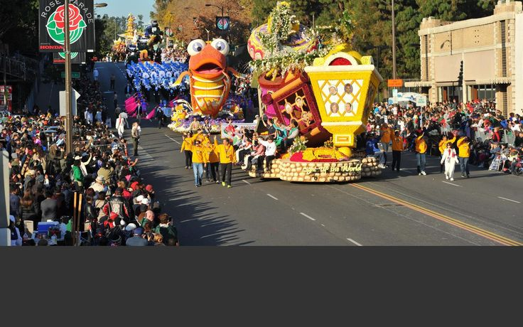 Each New Year's Day, the world focuses its attention on Pasadena, California, USA, home of the Rose Parade and Rose Bowl Game. It's a celebration more than a century old – a festival of flowers, music and sports unequaled anywhere else in the world.
