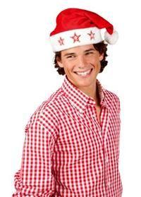 Noel Baba Şapkası, Yıldız Işıklı
