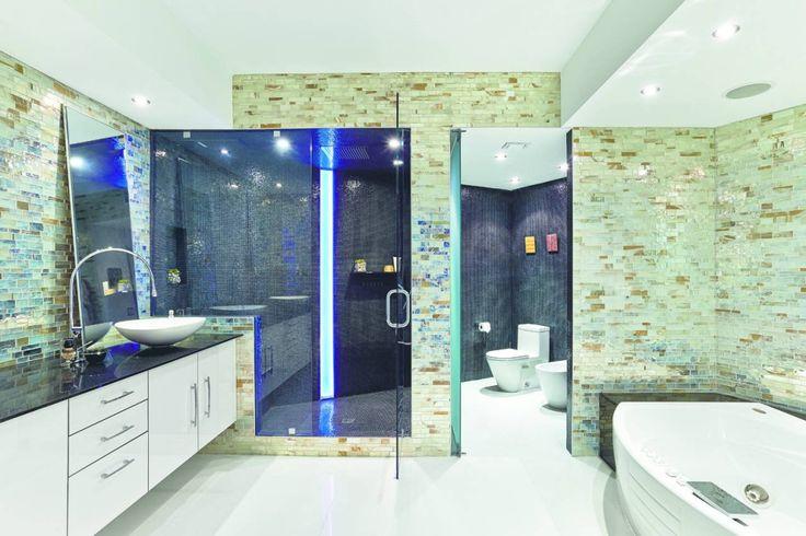 Oltre 25 fantastiche idee su bagno con mosaico su - Posa mosaico bagno ...