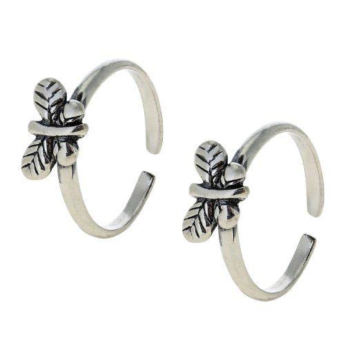 Silver Toe Rings Grt
