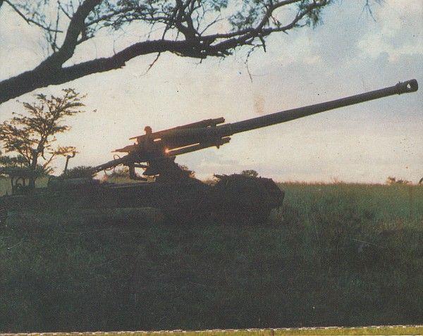 South African Artillery: G-5 155mm gun/howitzer