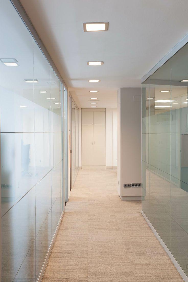 Proyecto de iluminacion led oficinas en bilbao con for Iluminacion led oficinas
