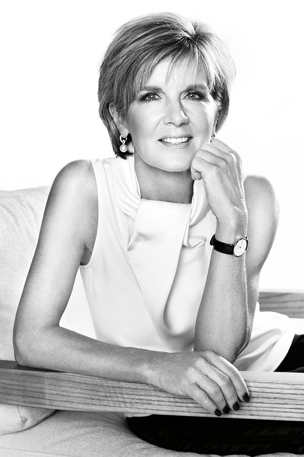 BAZAAR's December 2014 issue - Julie Bishop has been names Bazaar's Woman of the Year