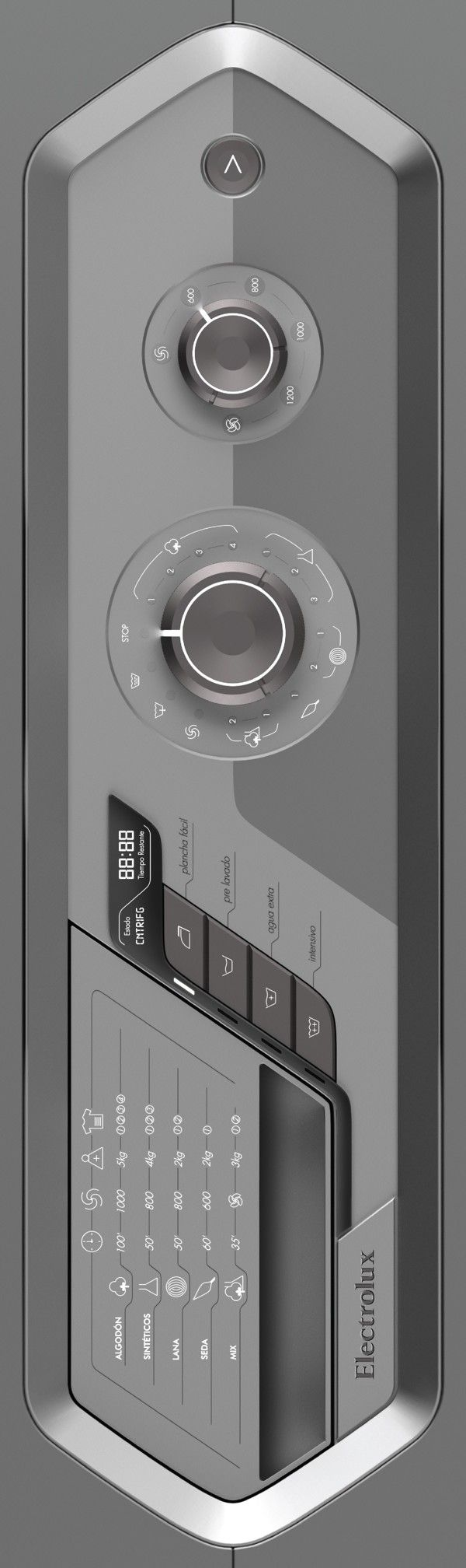 WM - Washing Machine Concept on Industrial Design Served