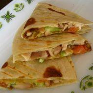 Fotografie receptu: Tortilly s kuřecím masem
