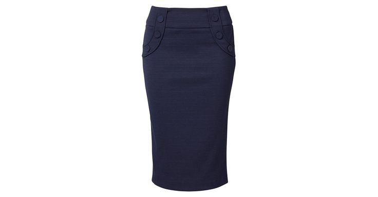 Review Australia - Maritime Pencil Skirt Midnight