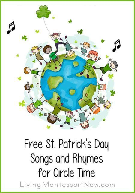 Lots of fun St. Patrick's Day YouTube videos plus songs and rhymes with lyrics