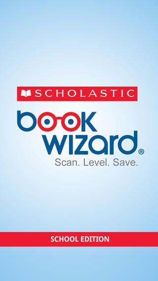 FREE Scholastic Book Wizard Mobile app - scan to level books!
