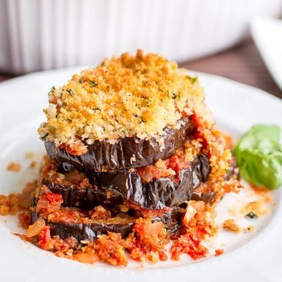 How to Make This Healthy Eggplant Parmesan Recipe