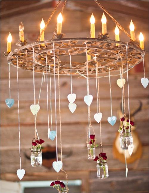 Romantic chandelier!
