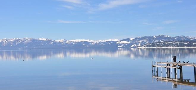 Winter 2013 - Ski and SUP Lake Tahoe:  Lakeshore