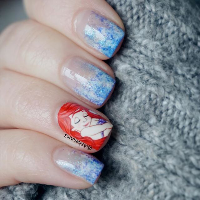Mulan Inspired Nails: 1000+ Images About Disney Inspired Nails And Makeup On