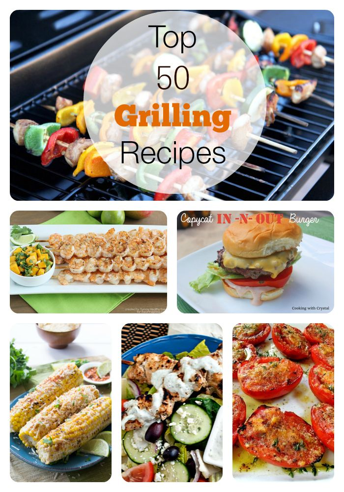50 amazing recipes for grilling season! Can't wait to try these!
