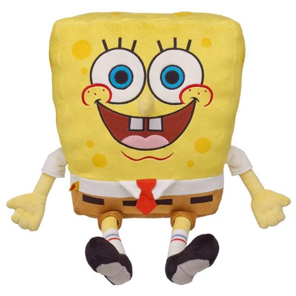 Make-your-own SpongeBob at Build-A-Bear Workshop!
