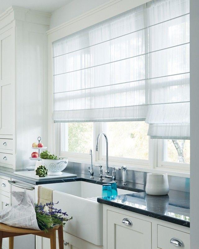 Modern Window Treatment Ideas For Kitchens Epuwojwl