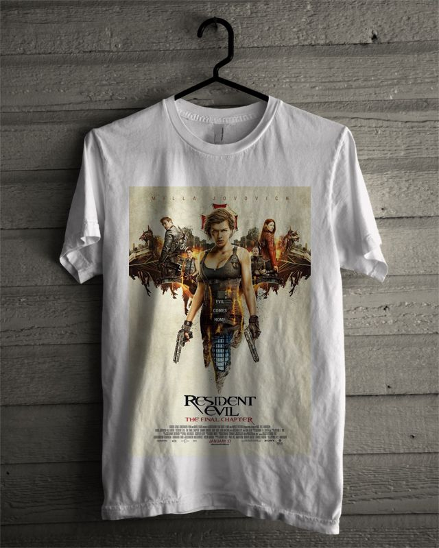 Kaos Resident Evil 5 - BikinKaosSatuan
