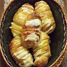 Aardappelwaaiers met kaas en truffelolie uit de oven - recept - okoko recepten