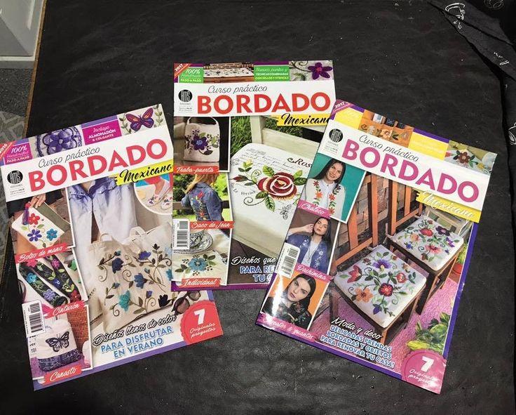Revista bordado mexicano  www.facebook.com/bordados.ines1