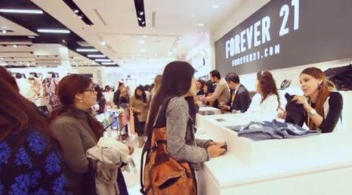 Tanto así?!!! Forever 21: La tienda por dentro y el recuerdo de su primer día en el Perú
