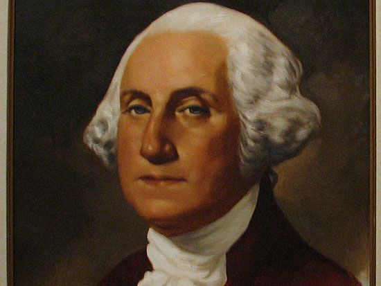 Джордж Вашингтон 1-й президент США